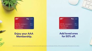 AAA TV Spot, 'Add Loved Ones' - Thumbnail 9