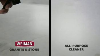 Weiman Disinfectant Granite & Stone Daily Clean & Shine TV Spot, 'Disinfect Granite & Other Types of Natural Stone' - Thumbnail 3