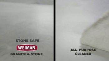 Weiman Disinfectant Granite & Stone Daily Clean & Shine TV Spot, 'Disinfect Granite & Other Types of Natural Stone' - Thumbnail 4