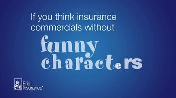 Erie Insurance TV Spot, 'Funny Characters'