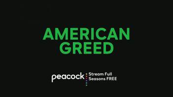 Peacock TV TV Spot, 'American Greed' Song by Hunnit - Thumbnail 8