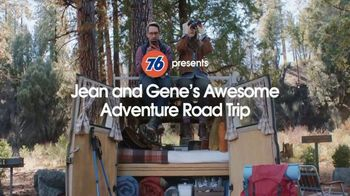 76 Gas Station TV Spot, 'Jean and Gene's Awesome Adventure Road Trip: Following MP' - Thumbnail 2