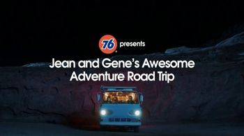 76 Gas Station TV Spot, 'Jean and Gene's Awesome Adventure Road Trip: Stars' - Thumbnail 2