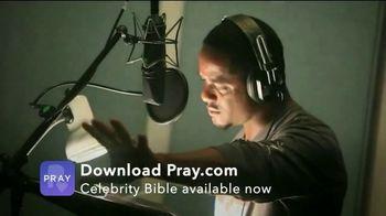 Pray, Inc. TV Spot, 'Celebrity Bible' Featuring Blair Underwood, Julia Ormond, Michael York