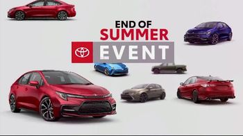 Toyota End of Summer Event TV Spot, 'Car You've Been Dreaming Of' [T2] - Thumbnail 5