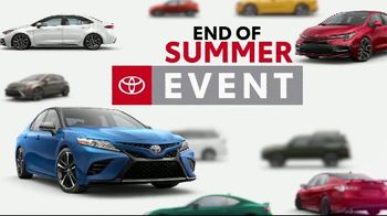 Toyota End of Summer Event TV Spot, 'Car You've Been Dreaming Of' [T2] - Thumbnail 1