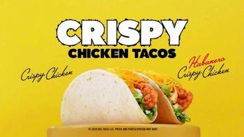 Del Taco Crispy Chicken Taco TV Spot, 'Only $1'