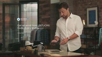 UNTUCKit TV Spot, 'UNTUCKit Responds to Dan Wilbur'