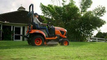 Kubota BX Series TV Spot, 'Mow, Dig, Haul, Trench' - Thumbnail 1