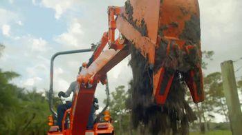 Kubota BX Series TV Spot, 'Mow, Dig, Haul, Trench' - Thumbnail 5