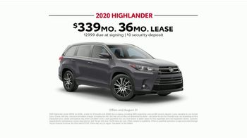 2020 Toyota Highlander TV Spot, 'Highlander Five' [T2] - Thumbnail 10