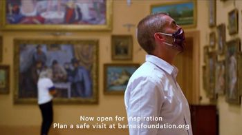 The Barnes Foundation TV Spot, 'Open for Inspiration'