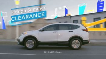 Honda Summer Clearance Event TV Spot, 'Open and Ready: CR-V & HR-V' Song by Danger Twins [T2] - Thumbnail 4