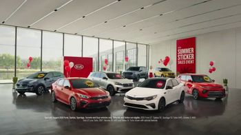 Kia Summer Sticker Sales Event TV Spot, 'Look for a Sticker' [T2] - 86 commercial airings