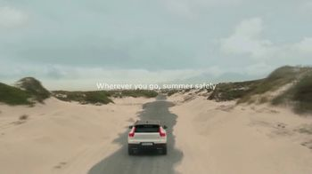 Volvo Summer Safely Savings Event TV Spot, 'Safety Above Everything: XC40' Song by Marti West [T2]