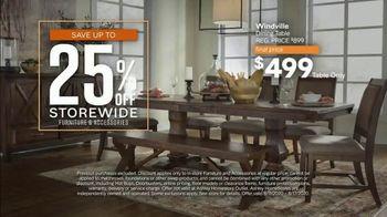 Ashley HomeStore Friends & Family Sale TV Spot, '25%: Hot Buys' - Thumbnail 4