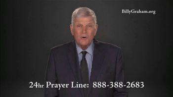 Billy Graham Evangelistic Association TV Spot, '24 Hr. Prayer Line: Downward Spiral' - Thumbnail 5