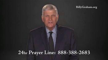Billy Graham Evangelistic Association TV Spot, '24 Hr. Prayer Line: Downward Spiral'