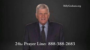 Billy Graham Evangelistic Association TV Spot, '24 Hr. Prayer Line: Downward Spiral' - Thumbnail 4