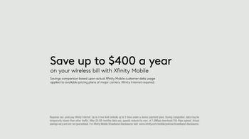 XFINITY Mobile TV Spot, 'Your Wireless, Your Rules: Save Up to $400 + Galaxy Note20 Ultra 5G' - Thumbnail 8