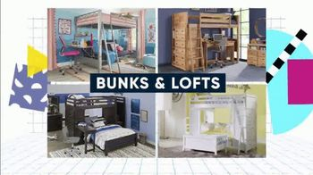 Rooms to Go Kids Back to School Sale TV Spot, 'Beds Big on Style and Function' - Thumbnail 4