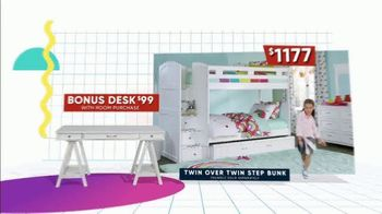 Rooms to Go Kids Back to School Sale TV Spot, 'Beds Big on Style and Function' - Thumbnail 6