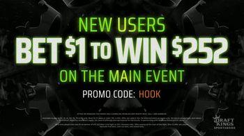 DraftKings Sportsbook TV Spot, 'UFC 252' - Thumbnail 5