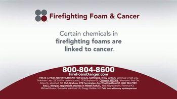 Sokolove Law TV Spot, 'Firefighting Foam & Cancer'