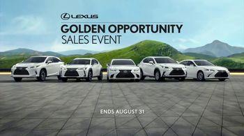 Lexus Golden Opportunity Sales Event TV Spot, 'Innovation' [T1] - Thumbnail 10