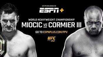 ESPN+ TV Spot, 'UFC 252: Miocic vs. Cormier' Song by Pop Smoke - Thumbnail 10