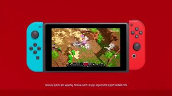 Nintendo Switch TV Spot, 'My Way to Play: Minecraft Dungeons'