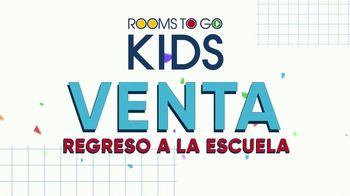 Rooms to Go Venta Regreso a la Escuela TV Spot, 'Grandes estilos' [Spanish] - Thumbnail 1