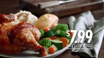 Boston Market Half Chicken Meal TV Spot, 'Pollo asado de granja' [Spanish] - Thumbnail 5