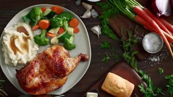 Boston Market Half Chicken Meal TV Spot, 'Pollo asado de granja' [Spanish]