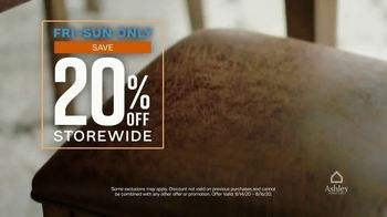 Ashley HomeStore TV Spot, 'Three Days Only: Financing and 20% Off' - Thumbnail 5