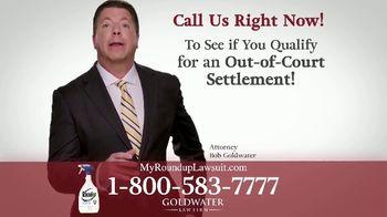 Goldwater Law Firm TV Spot, 'Roundup: $10 Billion' - Thumbnail 5