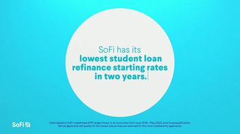 SoFi Student Loan Refinancing TV Spot, 'SoFi Members Get Their Student Debt Right: Lowest Rates' Song by Labrinth
