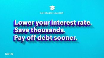 SoFi Student Loan Refinancing TV Spot, 'SoFi Members Get Their Student Debt Right: Lowest Rates' Song by Labrinth - Thumbnail 7