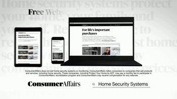 ConsumerAffairs TV Spot, 'Home Security Systems' - Thumbnail 1