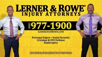 Lerner and Rowe Injury Attorneys TV Spot, 'Shopping Around' - Thumbnail 7