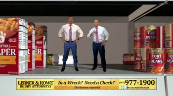 Lerner and Rowe Injury Attorneys TV Spot, 'Shopping Around' - Thumbnail 4