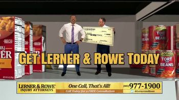 Lerner and Rowe Injury Attorneys TV Spot, \'Shopping Around\'