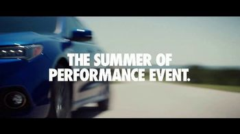 Acura Summer of Performance Event TV Spot, 'Well Said' [T2]