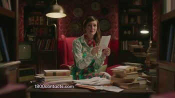 1-800 Contacts TV Spot, 'Alison: Express Exam Online: 20 Percent Off'