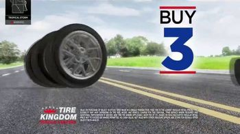 Tire Kingdom TV Spot, 'Summer Is Here: Buy Three Tires, Get One Free' - Thumbnail 5