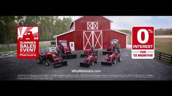 Mahindra Summer Sales Event TV Spot, 'Tough Times: 0% Financing' - Thumbnail 8