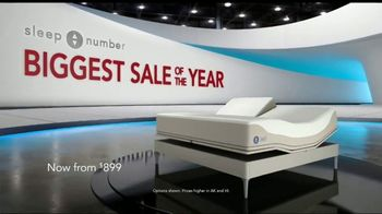 Sleep Number Biggest Sale of the Year TV Spot TV Spot, 'Better Sleep: All Beds on Sale' - Thumbnail 1