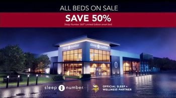 Sleep Number Biggest Sale of the Year TV Spot TV Spot, 'Better Sleep: All Beds on Sale' - Thumbnail 7