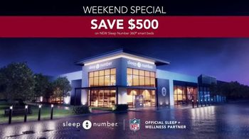 Sleep Number Biggest Sale of the Year TV Spot, 'Weekend Special: Save $500' - Thumbnail 8