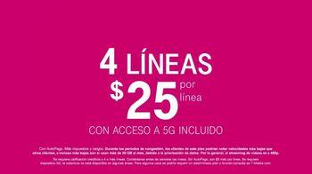 T-Mobile TV Spot, 'La mamá de LeJuan James pone a prueba la red 5G de T-Mobile' [Spanish] - Thumbnail 8